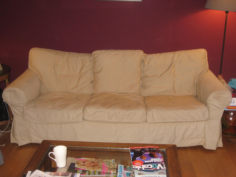 R fection sur mesure des housses d un canap fauteuil d co - Housse de canape d angle sur mesure ...