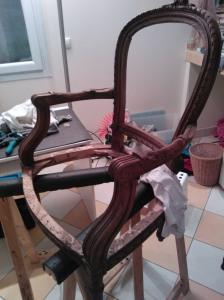Carcasse fauteuil cabriolet