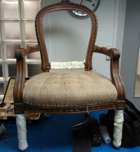 Emballage fauteuil cabriolet