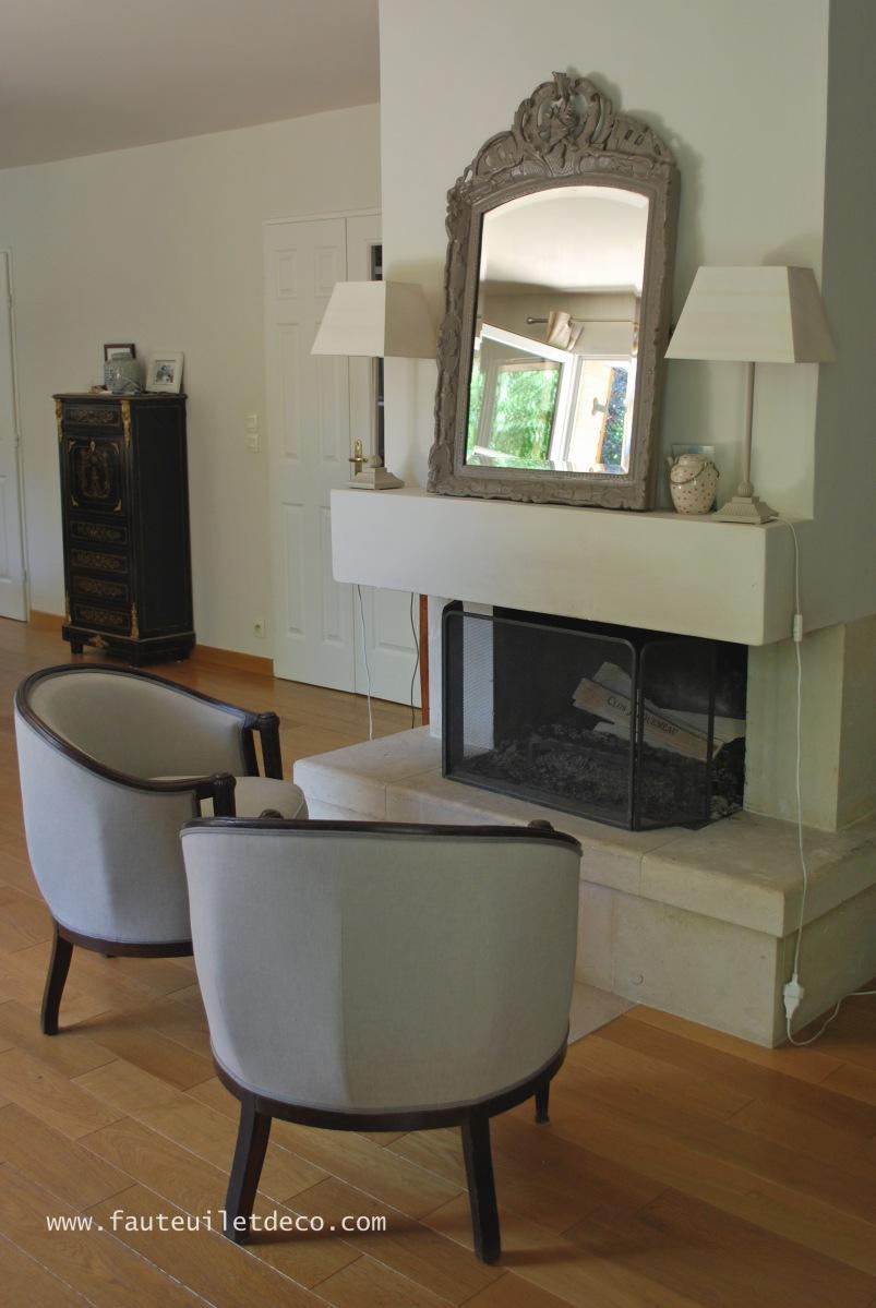 r fection de fauteuils tonneau fauteuil d co. Black Bedroom Furniture Sets. Home Design Ideas