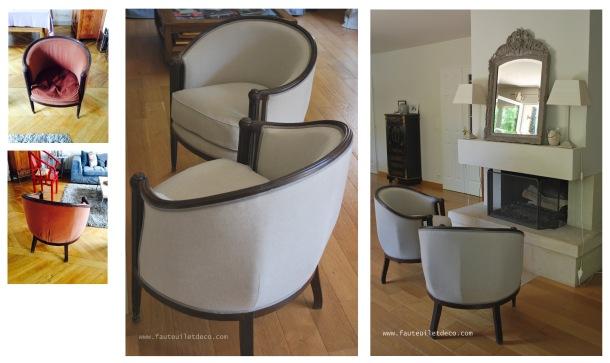 Réfection fauteuil