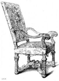 fauteuil Louis XIV 2