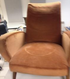 fauteuil années 50 avant