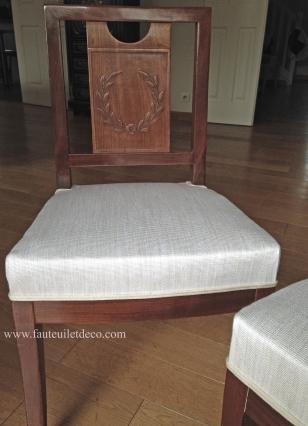 chaises après