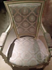Paire de fauteuils directoire avant restauration