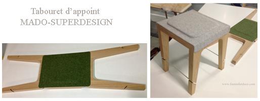 Tabouret d'appoint MADO Superdesign